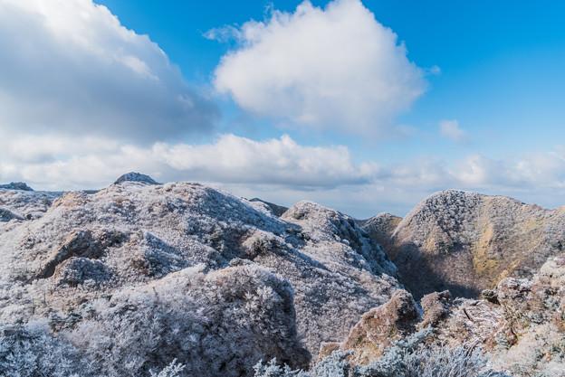 立岩の峰から国見岳