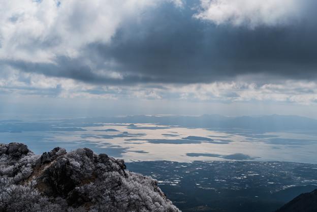 普賢岳から天草諸島