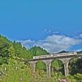 写真: 宝珠山線路は続くよ