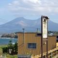 ホームより駒ケ岳を望む