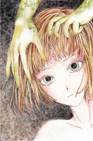 緑の手(原画)2
