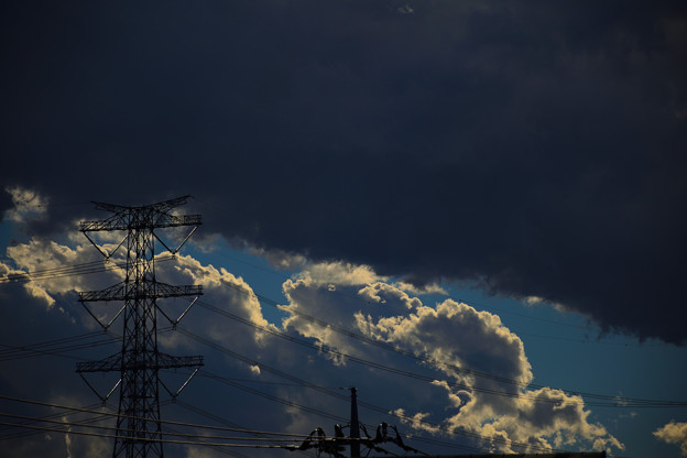 Photos: 雲の隙間