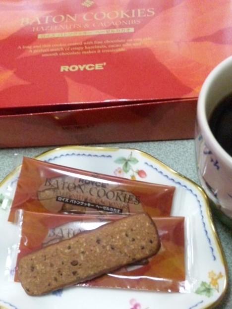 ROYCE'バトンクッキー[ヘーゼルカカオ]
