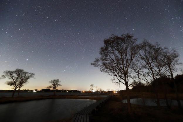 Photos: 横たう冬の銀河