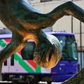 Photos: 銅像から見える都電♪