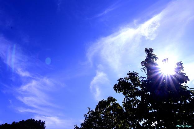 空/雲そして太陽