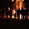 写真: 火渡り