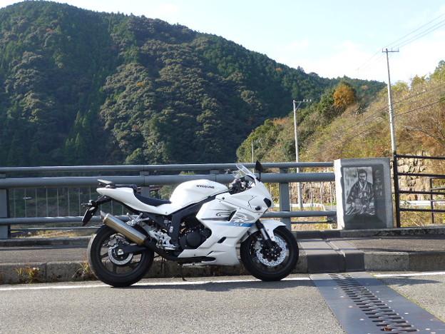 慎太郎橋にて