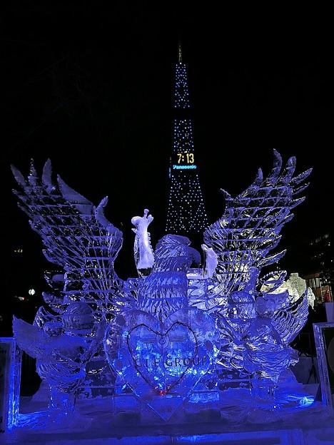Photos: 雪まつり・Eagle Blue&キューピット~☆