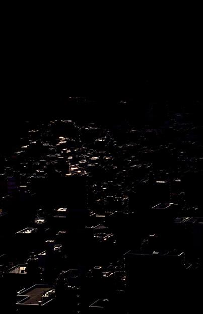 日影の街 東京