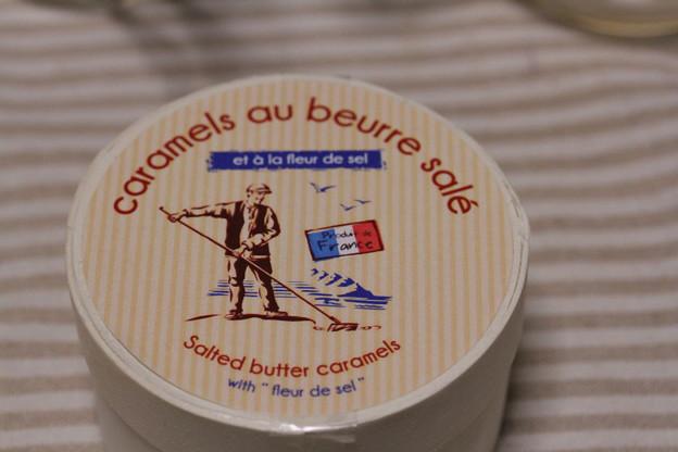写真: Societe France caramels au beurre sale 木箱