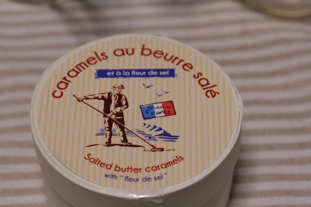Societe France caramels au beurre sale 木箱