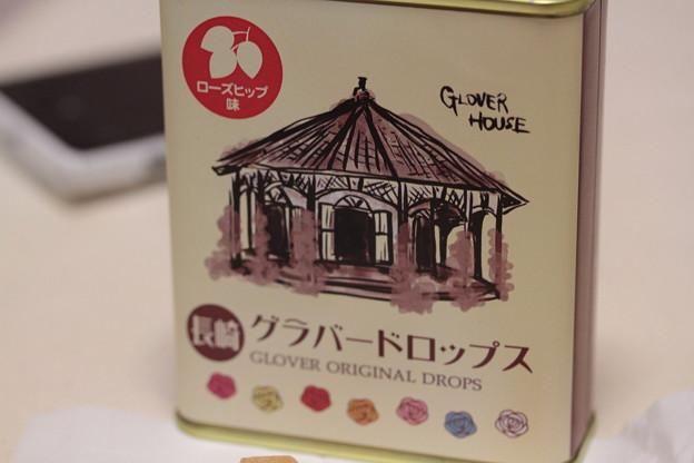 長崎グラバードロップス ~GLOVER ORIGINAL DROPS~ ローズヒップ味 缶