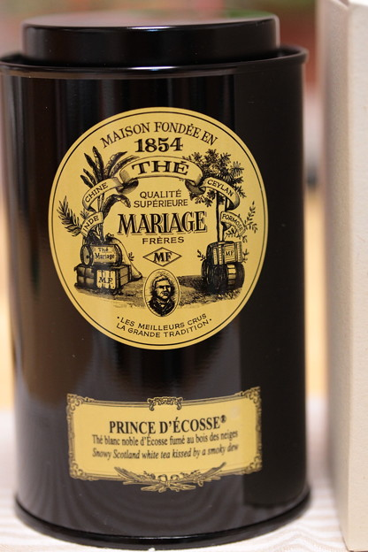 MARIAGE FRERES PRINCE D'ECOSSE - Prince of Scotland - Smokey White Tea - Scotland 缶