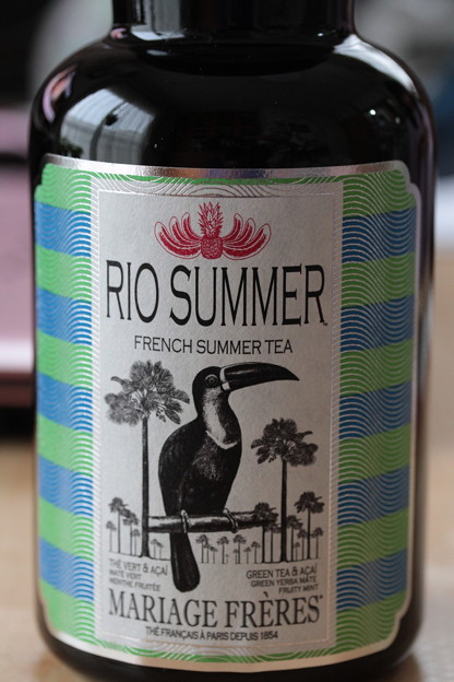 MARIAGE FRERES RIO SUMMER GREEN TEA FRENCH SUMMER TEA 瓶