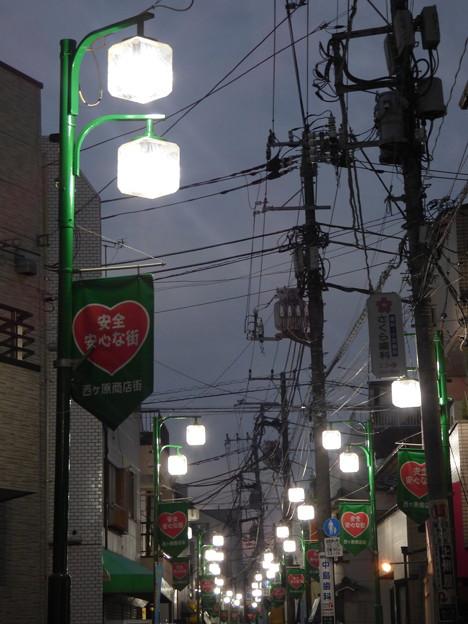 Photos: 夕暮れの西ヶ原商店街