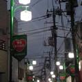 夕暮れの西ヶ原商店街