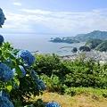 写真: 牛原山からの眺め(静岡県松崎町)
