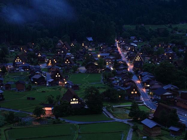 Photos: 夜の白川郷