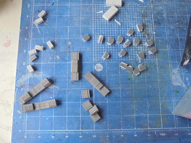 阪急1000系用床下機器製作(右側フィルターリアクトル的なもの)