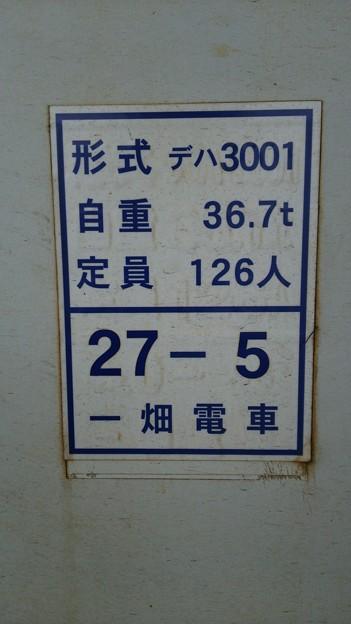 形式デハ3001