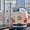 春満載の行楽列車3