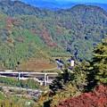 写真: 沿線の秋景色(7)