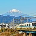 富士が見える沿線3