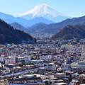 写真: 富士が見える沿線5