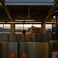 写真: 富士が見える駅(6)