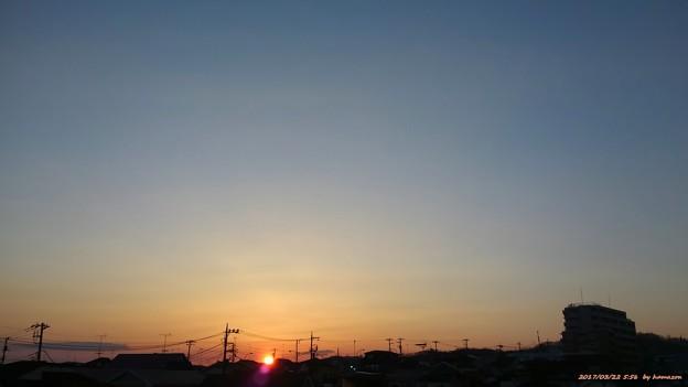 日の出(170322)