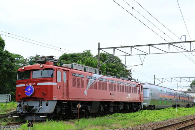 9028レ カシオペアクルーズ@松島駅2