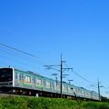 Photos: 205系@蒲須坂~片岡