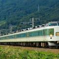 Photos: 189系快速「おはようライナー」@稲荷山ストレート