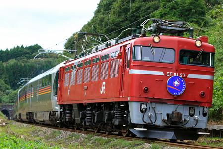 EF81-97牽引 カシオペアクルーズ2016年10月@豊原-白坂