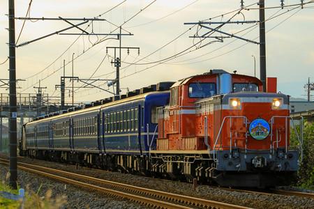 9136レ DD51-888牽引「DL碓氷」