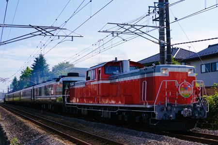 9135レ DL碓氷物語 DD51-888+12系ばんえつ物語客車5B+C6120