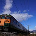 Photos: 115系(4K切り出し)@渋川~八木原