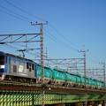Photos: 8097レ EF210-173+タキ@多摩川橋梁