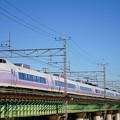 Photos: E351系「スーパーあずさ5号」@多摩川橋梁