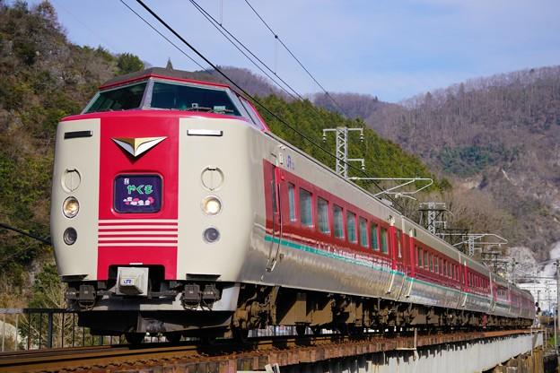 381系特急やくも@井倉~方谷
