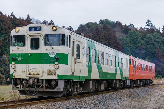 Photos: キハ40 1009@大金~鴻野山