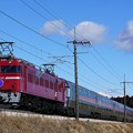 Photos: 8010レ EF81-98牽引カシオペア紀行@蒲須坂築堤1