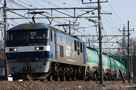 8097レ EF210-112+タキ@日野~豊田