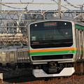 Photos: E231系@ワラナンアウトカーブ