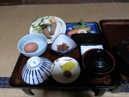 飯坂温泉・前野屋旅館の朝食