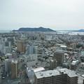タワーから函館山