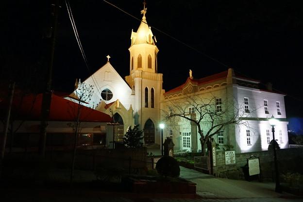 どの教会もライトアップ