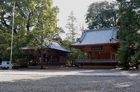 氷川神社(さいたま市)・神楽殿&額殿