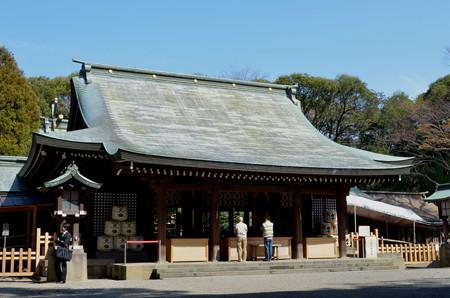 氷川神社(さいたま市)・拝殿
